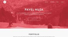 pavelhuza.com site design