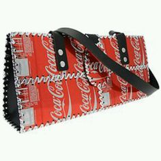 Coca Cola recycled purse...