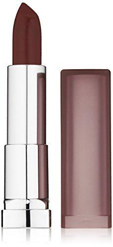 Maybelline New York Color Sensational Creamy Mattes Lipstick 0.15 Ounce Maybeline New York Burgundy Blush
