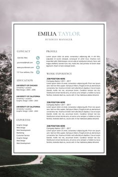 professional cv format - amazing cv templates - work resume template - simple cv format in word Business Resume Template, Nursing Resume Template, Modern Resume Template, Resume Cv, Template Cv, Creative Cv Template, Cover Letter Template, Simple Cv, Cv Format