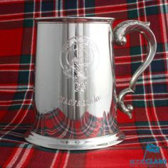 Clan Crest Pewter Ta
