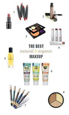 The Best Organic Makeup Brands | Green + Natural Cosmetics Products by Green Beauty Team's Kristen Arnett DIY Beauty Tips, DIY Beauty Products #DIY #naturalbeautyproductsorganic