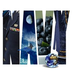 """Navy...."" by k-schrager ❤ liked on Polyvore featuring art"