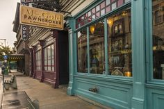 Once Upon A Time's Mr. Gold's Pawnbroker Shop in Disney's Hollywood Studios