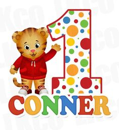 Daniel Tiger Iron On Transfers This item is designed for do-it-yourself t-shirt crafts. If you are looking to make matching birthday shirts for your little ones