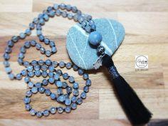Mala beadsMala necklace Mala beads 108Tassel by Laboratorio7Bijoux