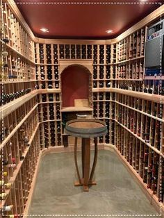 Custom Wine Cellar Design Services- Custom Wine Cellar Design Services Have some extra room or unused space in your home? We can help transform any space in your home into a home wine cellar. Request a FREE design today! Wine Cellar Basement, Wine Cork Holder, Home Wine Cellars, Wine Cellar Design, Bottle Cutter, Wine Cabinets, Cooking Wine, Wine Fridge, Under Stairs