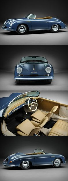 1957 Porsche 356A Speedster More