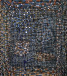 Paul Klee, Symbiosis, Artificial Symbiosis, 1934, Watercolour and gouache on paper, Privatbesitz, Schweiz, © Sabam Belgium 2008