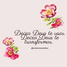 Com amor, para Deus! My Jesus, Christ, Instagram Posts, Salvador, Words, True Sayings, Inspirational Quotes, Knitting Quotes, Psalm 91