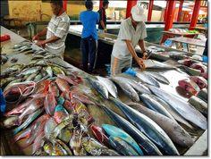 Victoria fish market - Victoria, Grand Anse Mahe -, Seychelles