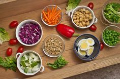 Eat to Live Recipes salad bar