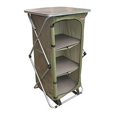 Bushtec Adventure Sierra Canvas Camp Cupboard camping table or outfitter cupboard table >>> You can find out more details at the link of the image.