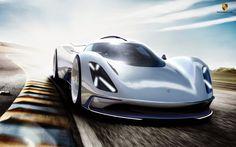 Porsche Electric Le Mans 2035 - Gilsung Park  - 2014/15 Winter Semester -  Master Thesis - Hochschule Pforzheim  with Advanced Studio  PORSCHE AG