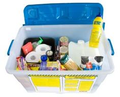 A disaster supplies kit is a collection of basic items your household may need in the event of an emergency.  You should also have emergency items in your car and workplace.