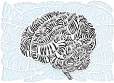 The Anorexic Brain – Science News - Luke Lucas – Typographer Brain Art, Brain Science, Science News, Jacky Winter, Typography Art, Lettering, New Artists, Art Director, Illustrations Posters