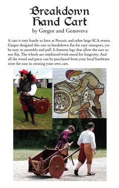 Links to multiple SCA-related Pennsic class pdf handouts