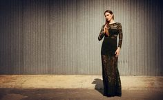 Giulia S clothing cutout lace gown