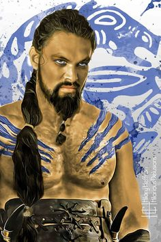 Khal Drogo | Game of Thrones - by Hilary Heffron, Hilarious Delusions