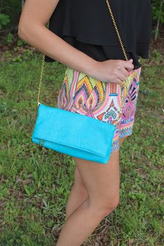 Just a Dream shorts & Day to Night clutch from shopjulianas.com!