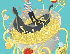 """Check out new work on my @Behance portfolio: """"cooking"""" http://be.net/gallery/50579775/cooking"""