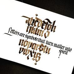 Callifonts Batarde Fraktur Style Calligraphy Fonts