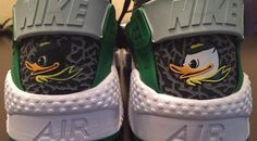 Nike Made Exclusive Huaraches for the Oregon Ducks