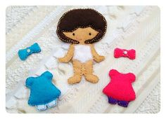 Non Paper  dolls In the hoop Michaela Doll by DejahVueDesigns, $7.00
