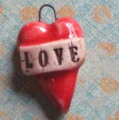 Mini LOVE hearts by dianehawkey on Etsy, $10.00