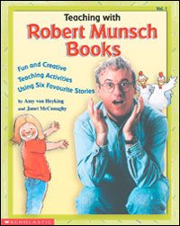 Discussion board with ideas for a Robert Munsch Author Study