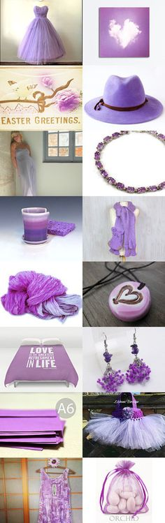 Orchid, The Color by Carla on Etsy--Pinned+with+TreasuryPin.com