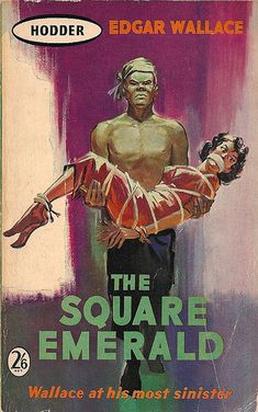 1960 Cover for Wallaces The Square Emerald