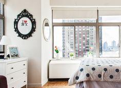 Bedphoria neoyorquina - AD España, © D.R. A dos minutos de Wall Street, este apartamento tiene una cama queen-size y un baño con bañera de la que, obviamente, cuesta salir. Foto D.R.