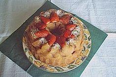Quark - Erdbeer Gugelhupf (Rezept mit Bild) von genovefa56 | Chefkoch.de