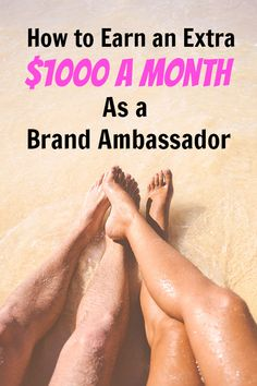 Becoming a brand ambassador is an interesting side gig to make extra money. Here& how you can get paid to work with big brands like Chevy, Coke, Nike, and more with their marketing efforts. Work From Home Moms, Make Money From Home, How To Make Money, How To Become, Online Business From Home, Online Jobs From Home, Fast Money Online, Legit Online Jobs, Best Business Ideas