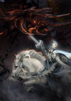 Feanor vs Gothmog Lord of Balrogs - Tolkien the Silmarilion.