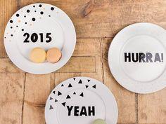 tutorial decorare piatto pennarello ceramica