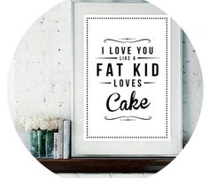 Fat Kid Cake Prints