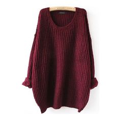 Oversized Winta Sweater Outfit Made (905 UYU) ❤ liked on Polyvore featuring tops, sweaters, shirts, jackets, oversized chunky cable knit sweater, oversized sweater, purple sweater, wrap sweater and shirt sweater