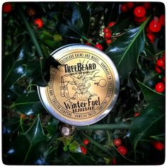 Christmas present for a man, male grooming. NEW 'Winter Fuel' Beard Balm by TreeBeard, Limited Edition £14.00