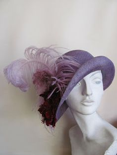 One of Phrine's hats. MANDY MURPHY MILLINERY - Melbourne