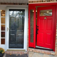 Before & After shot Grand Entrance, Garage Doors, Outdoor Decor, Furniture, Home Decor, Decoration Home, Room Decor, Home Furniture, Interior Design