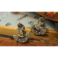 Anchors Away earrings $6