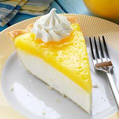 Lemon Supreme Pie Recipe -A friend and I often visit a local restaurant for pie and coffee. When they stopped carrying our favorite, I got busy in the kitchen and created this version, which we think tastes even better! The combination of the cream cheese and tart lemon is wonderful. —Jana Beckman, Wamego, Kansas