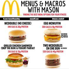 healthy options at mcdonald's