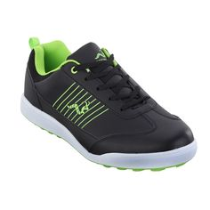 d1010e3542d1 Woodworm Surge Golf Shoes Black Neon