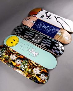 Lord Nermal reloaded – The new RIPNDIP decks are now online! 🐱 Lord Nermal reloaded – The new RIPNDIP decks are now online! Painted Skateboard, Skateboard Deck Art, Skateboard Design, Skateboard Girl, Skateboard Parts, Electric Skateboard, Custom Skateboards, Cool Skateboards, Fille Indie
