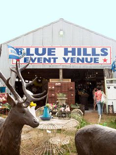 Country Living's Guide to the Round Top Antiques Show - bi-annual Texas event is the one of the largest antique shows in the country and has to be experienced to believe.