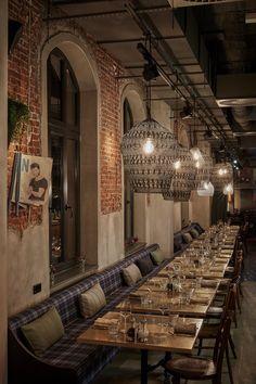 NENI Restaurant at 25hours Hotel Hamburg Altes Hafenamt, Hamburg, 2016 - Dreimeta Armin Fischer