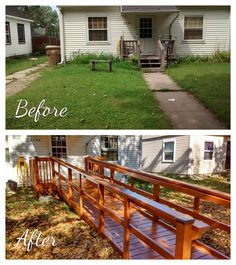Habitat For Humanity, Before And After Pictures, Home Repairs, Habitats, Exterior, Outdoor Decor, Home Decor, Decoration Home, Room Decor